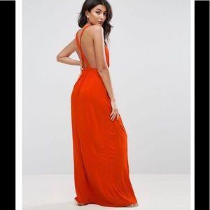 ASOS Jersey Plunge Front Dress